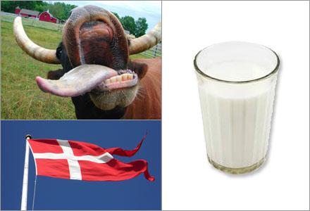 Danskarna vill utplåna alla spår av svensk mjölk.
