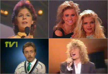Det vämjeliga modét och frisyrerna är den verkliga anledningen till att SVT vägrar digitalisera sitt 80-talsarkiv.