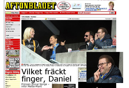 Bilden som Aftonbladet valde att inte publicera finns infälld i stora bilden