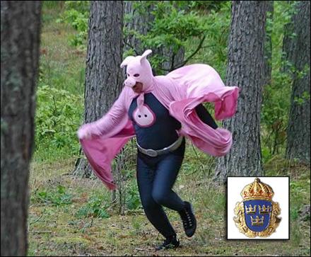 En seriemördare går lös i Malmö, men Grismannen räds icke