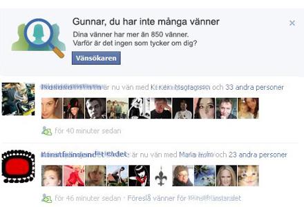Gunnar Johansson utsattes för spott och spe av Facebook