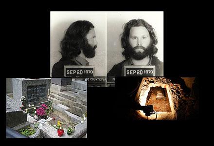 Morrisons grav på Pére-Lachaise grävs upp för att artisten ska avtjäna sitt straff i USA.