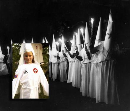 Sofia Karlsson, 10 år ville att luciatåget skulle vara vitt i år