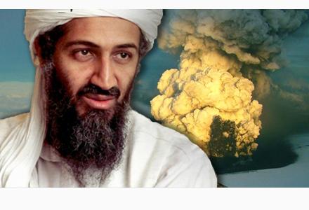 Osama bin Laden ler i mjugg: Det d�r �r vad jag kallar en fis!