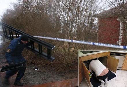Polisen uttryckte sitt medlidande efter att missförståndet klarats upp: rensa avlopp är ju bland det jävligaste man kan göra i ett hushåll, menar kommissarie Stephan Söderholm.