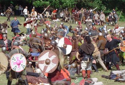Midsommarafton år 836 var särskilt stökig med fylla, slagsmål och knivbeslag.