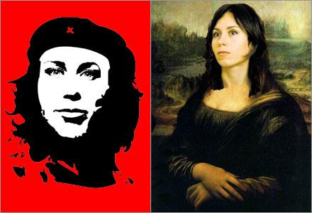 """Två av de verk som Odell hade med sig till Nationalmuseum, """"Oddche"""" och """"Anna Lisa""""."""