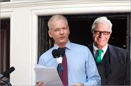 Brunnberg kan följa med Assange till Ecuador,