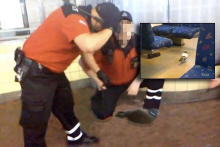 En duva från den så kallade Farsta-ligan togs på bar gärning