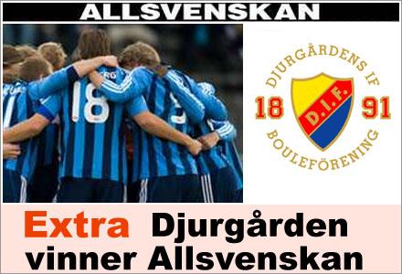 Löpsedeln som kommer lura Fuglesang att Djurgården vunnit Allsvenskan när han var i rymden.