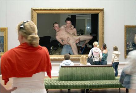 """""""Böglyftet"""", av okänd konstnär, är ett av de populäraste verken i utställningen."""
