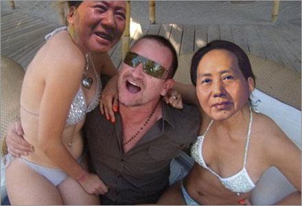 Bono älskar älskar älskar älskar älskar älskar älskar älskar Kina.
