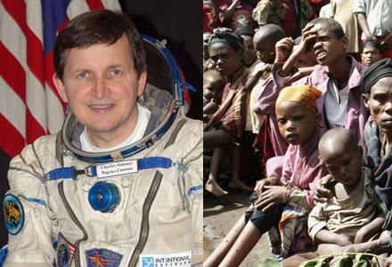 I Etiopien råder nu Simonyi-feber i väntan på hans rymdresa.
