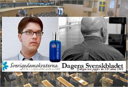 Sverigedemokraterna blev tvungna att ändra sin slogan efter SIFO:s misstag.