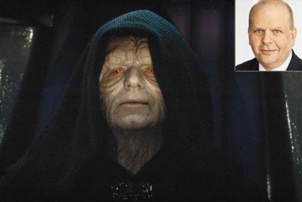 Kejsaren i Star Wars har befruktat en kvinna.