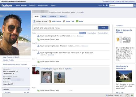 En strand, eller en solnedgång utomlands vanliga motiv på facebookprofiler.