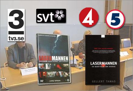 Flera TV-kanaler uppger att de redan har skådespelare och manus redo för Lasermannen II.