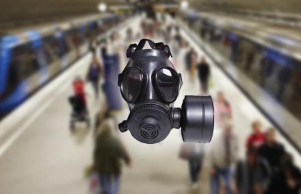 """Tunnelbanan är en """"rysk roulette för dofter""""."""