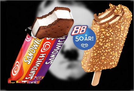 GB köper domännamnet för att marknadsföra sina glassar.
