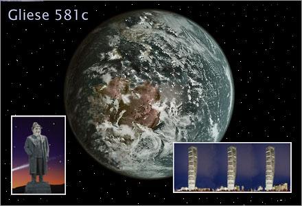 Tragiskt nog har det visat sig att den första beboeliga planeten man hittat liknar Skåne.