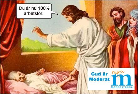 Det är nu bevisat, typ vetenskapligt, att Gud är moderat.