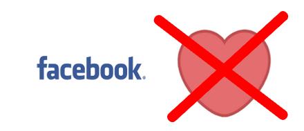 hjärta på facebook