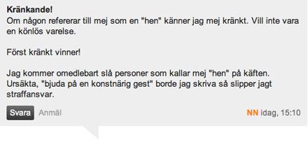 Dagens Nyheter går i bräschen för att förbjuda nyord i svenska språket.
