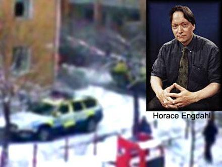 Horace Engdahl kommenterar händelsen
