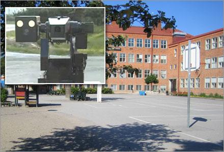 I Upplands-Väsby har vandalismen helt upphört efter att man installerat nya övervakningskameror från Sydkorea.