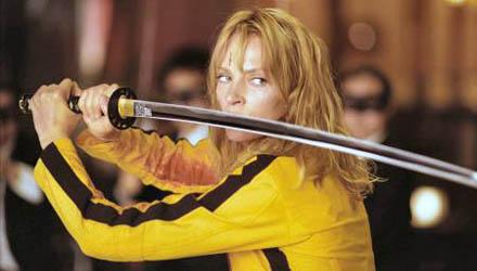 Kill Bill inspirerades av Bo Arne Vibenius ''Thriller - en grym'' film från 1974.