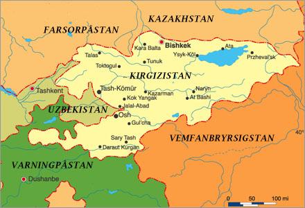 Amerikaner kan inget om Geografi och just DU vet inget om den här regionen.