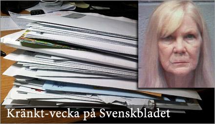 Ulla tvingas förvara grannarnas post hemma medan de är och roar sig på Öland.