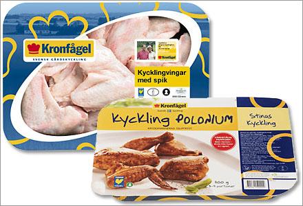 Kycklinglår med spik och Stinas Kyckling Polonium är bara två av många nya produkter.