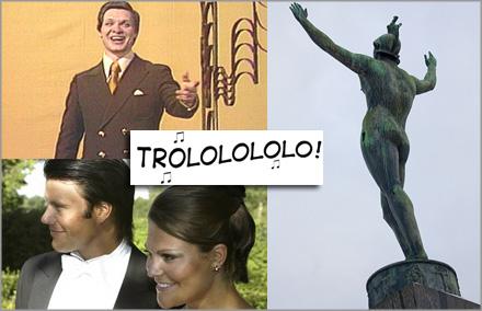 """""""Trololo""""-mannen är esset i rockärmen inför jippot på lördag"""