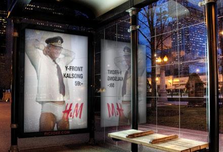 H&M räknar med krossade reklampelare likt julen 1993 då Anna Nicole var modell.