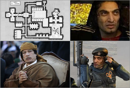 Khadaffi har isolerat sig på en hemliga bas, enda hoppet står nu till en infiltratör.