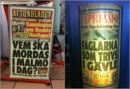 I Gävle handlade inte löpet om vare sig mord, bränder eller Thorsten Flinck.