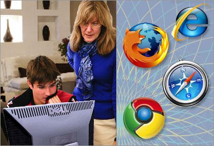 Gunborg Martinsson vet vad en browser är för någonting.