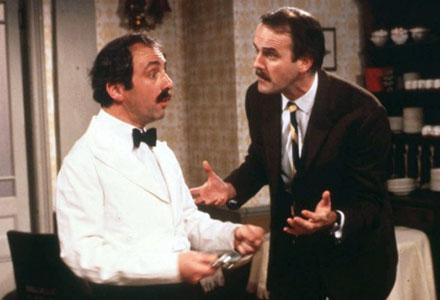 Manuel i Fawlty Towers hade inte den felande genen, han var bara spanjor.