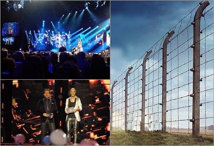 Det är du som är jävligt barnslig som vägrar titta på Melodifestivalen.