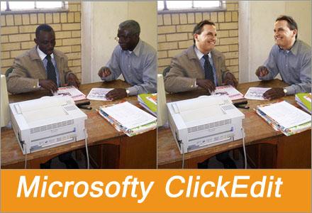 Microsofts nya bildbehandlingsprogram använder åtskilliga nya automatiska filter.