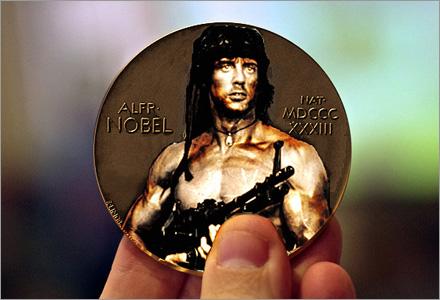 Nytt för i år är Nobels krigspris.