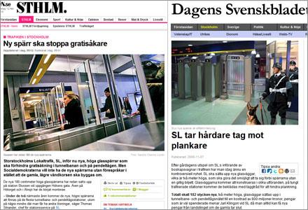 SL inför nu jättespärrar i tunnelbanan, inspirerade av Svenskbladet?