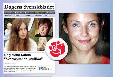 En 30 år yngre Mona Sahlin var partiets förstahandsval, menmen.
