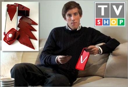 TV-shop var imponerade över Abeles YouTube videos.