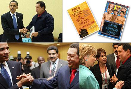 Hugo Chávez trodde han gav Barack Obama en kopia av boken Open Veins of Latin America.