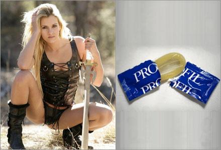 Är det tidsenligt att använda kondom vid fantasylajv undrar veckans insändare.