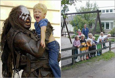 Vissa föräldrar påstår att deras barn blivit lugnare sen de lämnat dem hos orcherna.