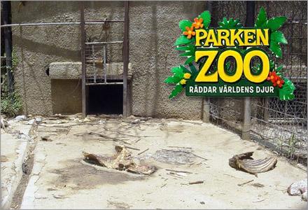 Det finns inte längre några djur på parken ZOO i Eskilstuma.