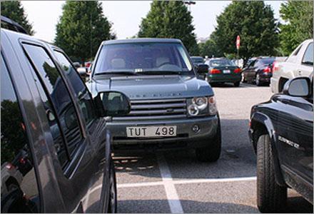Folk som inte kan parkera ordentligt utgör ca 75% av befolkningen.